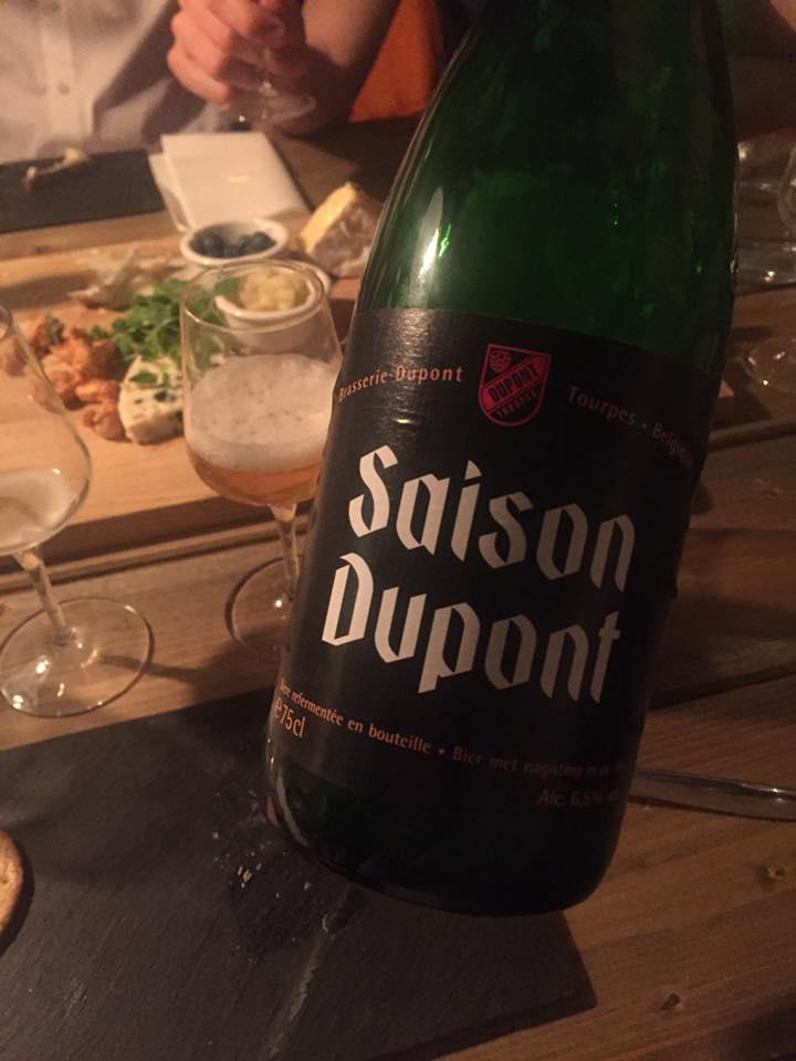 saison dupont øl på flaske