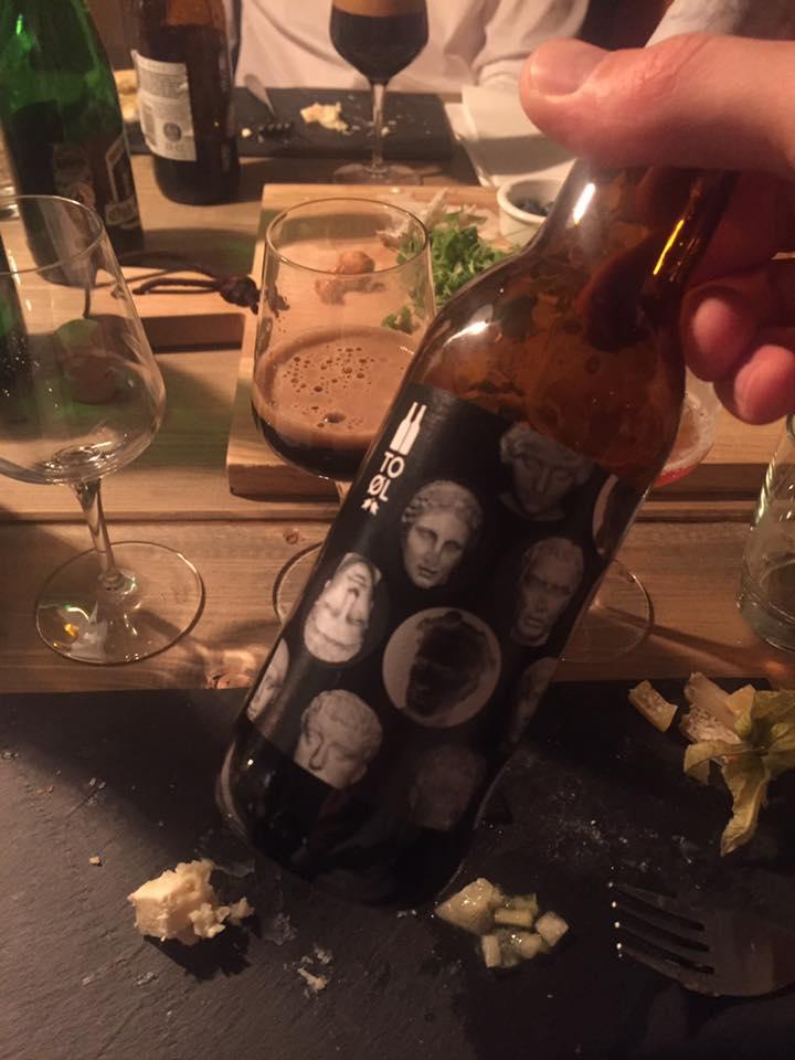 Mørk porter øl