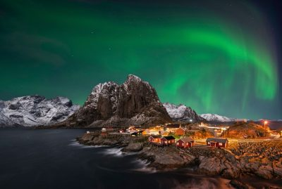 nordlys i Norge.