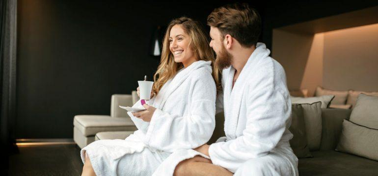 Romantisk helg for par på spa er en flott valentinesgave 2018.