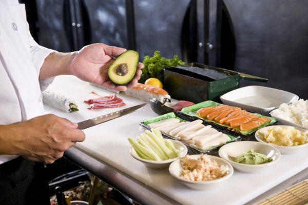Lær å lage sushi