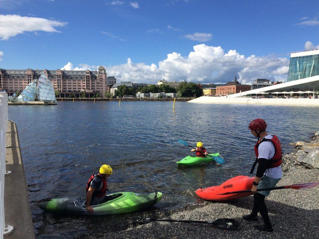 Turen ender ved Operaen i Oslo. Overrask med en aktivitetsgave i Oslo utenom det vanlige.